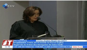 Empossamento dos Novos Órgãos Regionais da Ordem dos Advogados de Cabo Verde